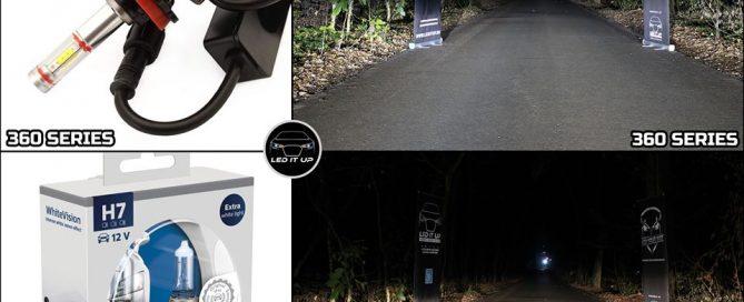 Kit LED 360 series vs Philips WhiteVision