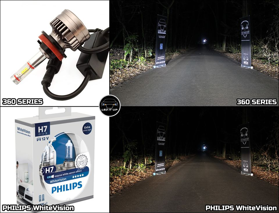 Kit LED 360 series vs Philips WhiteVision