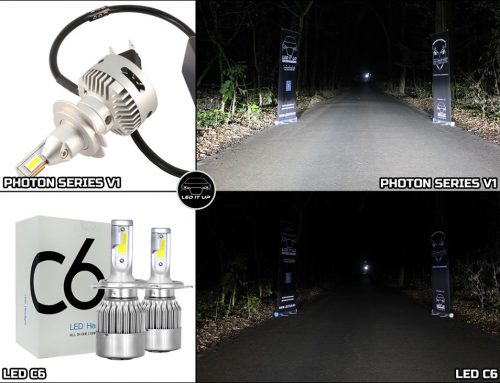 Teste comparative: Kit LED Photon Series V1 vs. LED C6