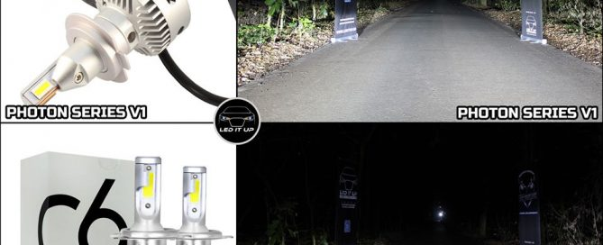 Photon Series V1 vs. LED C6