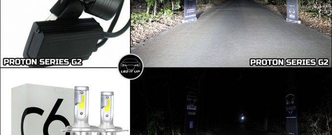 proton series g2 vs led c6