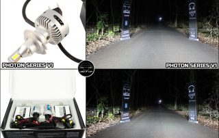 Photon Series V1 vs. Instalatie Xenon AE 55W